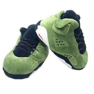 Green Nike Air Jordan Retro 5 Slipper - Kicks (One Size Fits All From Size (EU) 35-44 (US) 5-11 for Sale in Inglewood, CA