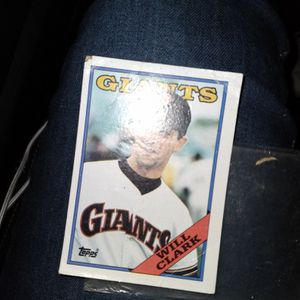 WILL CLARK BASEBALL CARD GREAT CONDTION for Sale in Los Angeles, CA