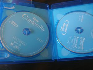 Cinderella 1,2 &3 blue ray and digital codes. for Sale in Rogers, AR