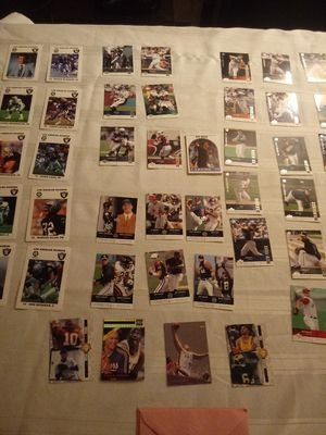 45 assorted football and baseball cards in pristine condition for Sale in Glendale, AZ