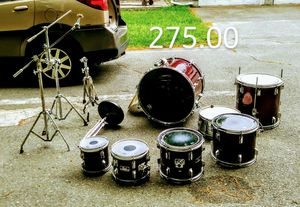 PEARL EXPORTS. NO BASS PEDAL OR HI HATS for Sale in Avon, MA