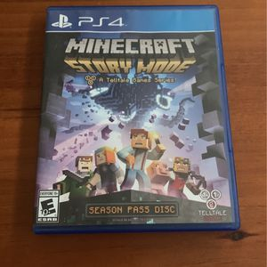 Minecraft Story Mode for Sale in Lake Stevens, WA