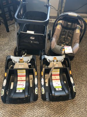 Chicco KeyFit30 infant car seat/bases/caddy for Sale in Roy, WA