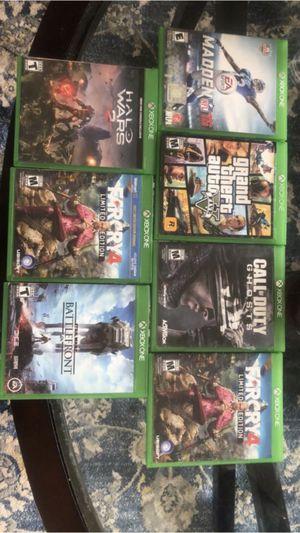 Xbox 1 games for Sale in Wenatchee, WA