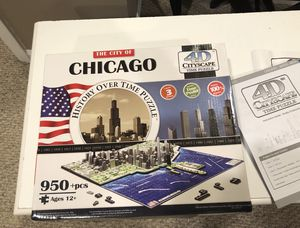 Chicago 4D NEW Puzzle for Sale in Palatine, IL