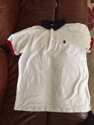 Bape Polo Shirt SZ XL Fits like a L 60 $ for Sale in Rolesville, NC