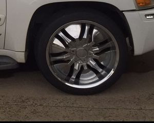 22 inch chrome rims for Sale in Bedford, TX