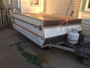 Selling my pop up camper 1986 for Sale in HOFFMAN EST, IL