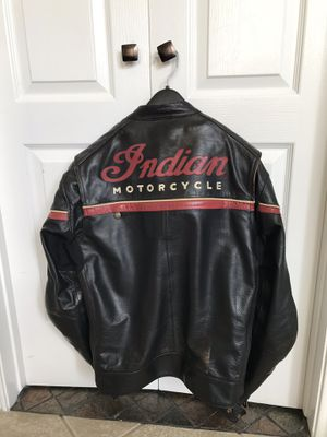 Men's Indian motorcycle jacket for Sale in Flower Mound, TX