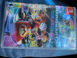 Nintendo Switch MarioKart Deluxe 8 for Sale in Longview, TX