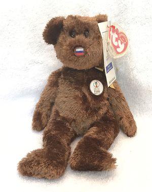 2002 FIFA ty beanie baby Russia 🇷🇺 ⚽️ 🐻 for Sale in Alpharetta, GA