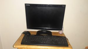 E machines computer monitor, keyboard and mouse for Sale in Mokena, IL
