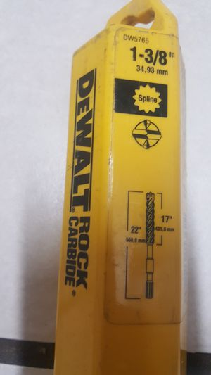 Dewalt Rock carbide for Sale in Washington, DC