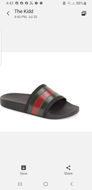 Mens Gucci Slides for Sale in Lathrop, CA