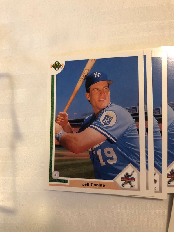 Upper Deck Baseball 1991 Jeff Connie Rookie #27 set of 48 cards mint