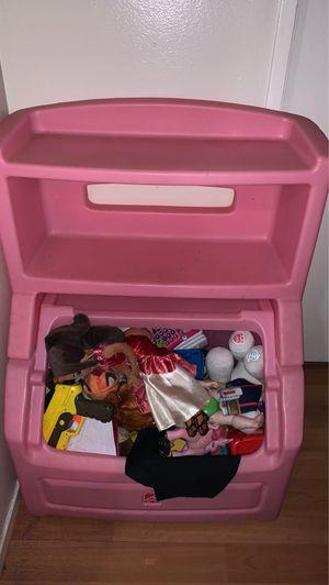 Kids toy box for Sale in Santa Ana, CA