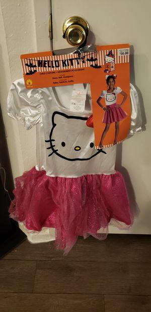 Hello kitty girls costume for Sale in Henderson, NV