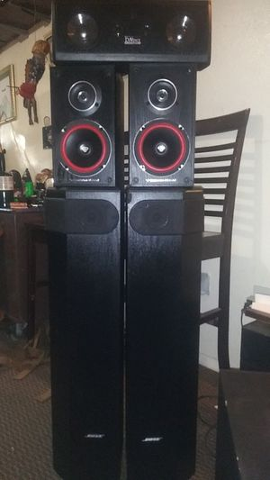 Bose/cerwin-vega combo $250 for Sale in San Bernardino, CA
