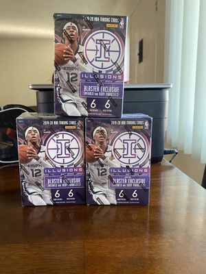 2019-20 Panini Illusions NBA Basketball Blaster Box Brand New Factory Sealed for Sale in Anaheim, CA