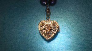 Locket charm necklace for Sale in Sanger, CA