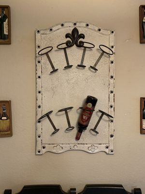 Wall wine rack for Sale in Chino Hills, CA