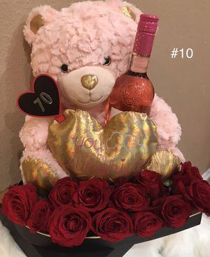 Teddy Bear & wine for Sale in Pomona, CA