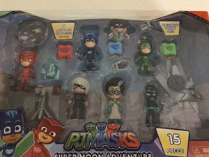 New PJ Masks Super Moon Adventure Deluxe Figure Set for Sale in Downers Grove, IL