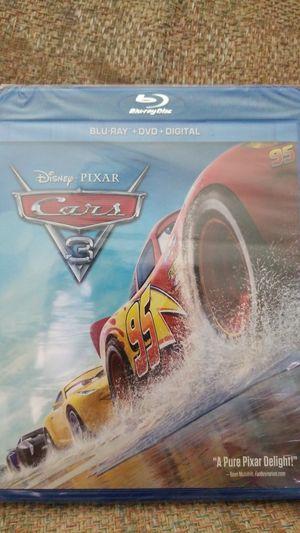 Disney Pixar Cars 3 (New) factory sealed! for Sale in Wahiawa, HI
