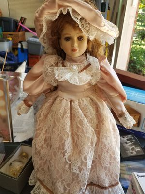 Antique Porcelain Doll HOLIDAY BLOWOUT!! for Sale in Oaklandon, IN