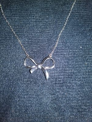 Elegant silver necklace for Sale in Denver, CO