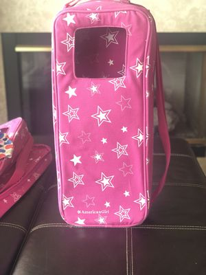 American Girl Doll Carrier Pink Star Travel Tote Soft Carrying Case, Retired for Sale in Lutz, FL