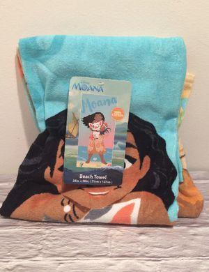 Disney Moana Beach Towel for Sale in Warren, MI