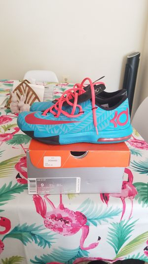 Nike kd 6 size 9 nerf for Sale in Hyattsville, MD