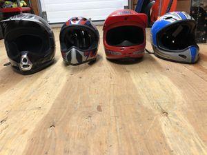 Four Helmets for Sale in Torrington, CT