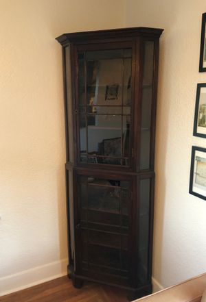 Edwardian Corner Cabinet for Sale in Seattle, WA