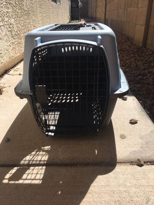 Light blue dog carrier/crate for Sale in Avondale, AZ