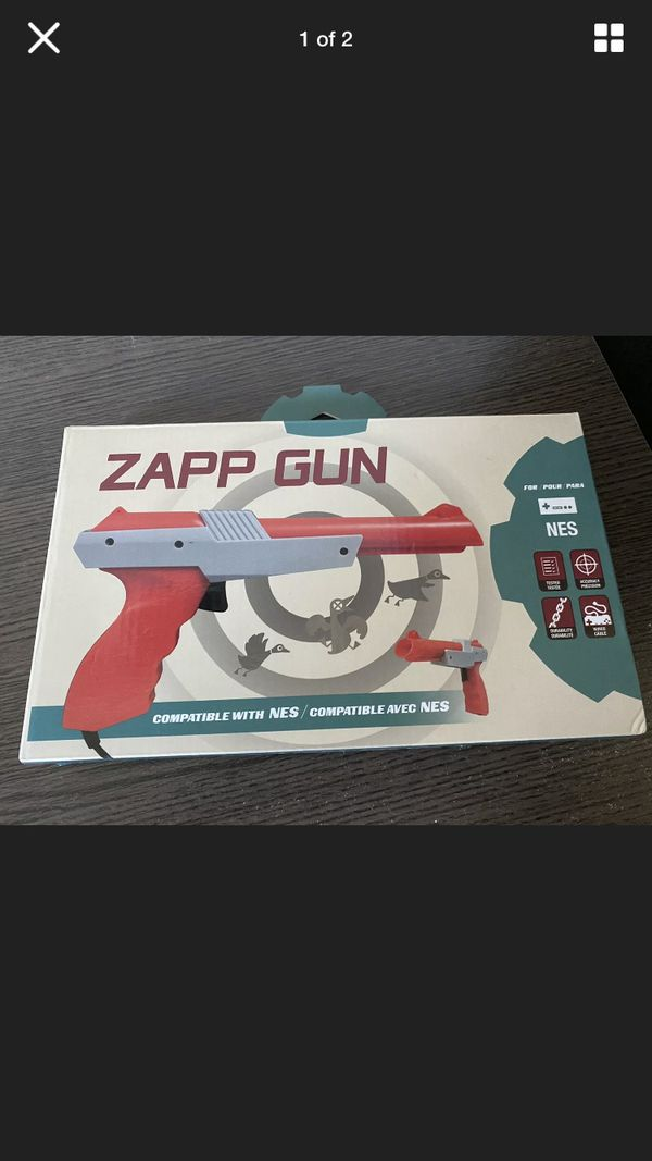 Nintendo NES Zapp Gun for duck hunt *READ DESCRIPTION*
