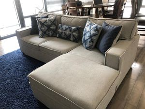 Sofa bed + Left Sectional for Sale in Alexandria, VA