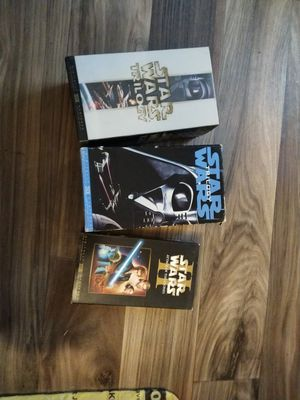 Star wars trilogy set vhs tapes for Sale in Montrose, PA