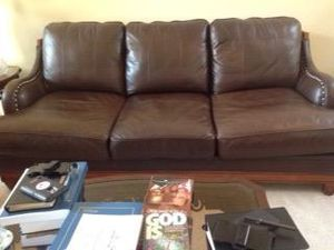 4 piece Leather Furniture by Universal Furniture for Sale in Macon, GA