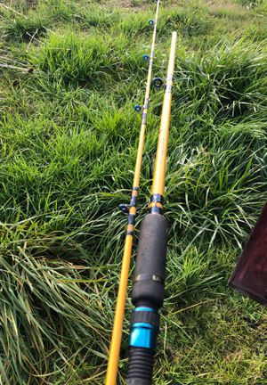 Eagle Claw 7 1/2' fishing pole for Sale in Silverton, OR