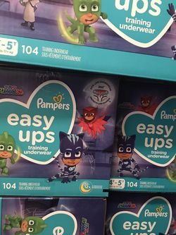 PJ MASKS PAMPERS 4T-5T for Sale in Seaside,  CA