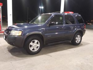 2002 Ford Escape 4X4 for Sale in Colorado Springs, CO