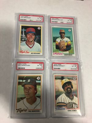 1978 Topps Baseball PSA 6 Lot for Sale in Franklin Square, NY