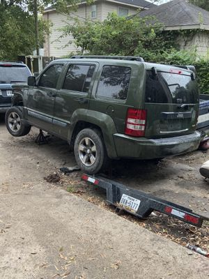 2008 Jeep liverty only parts for Sale in Houston, TX