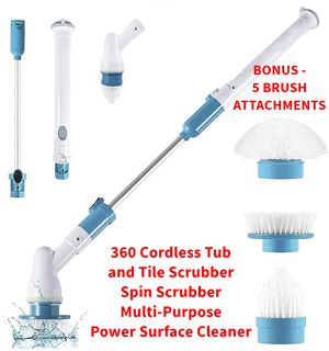 Turbo Scrub 360 Cordless Tub and Tile Multi-Purpose Scrubber for Sale in MD, US
