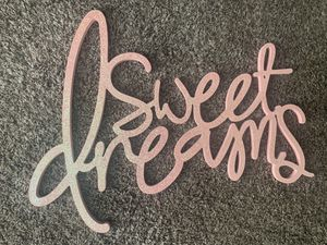 Sweet Dreams Wall Decor for Sale in Blue Springs, MO