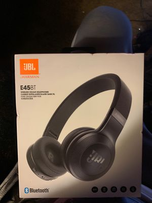 Brand new never opened JBL e 45 BT Bluetooth headphones for Sale in Taylor, MI