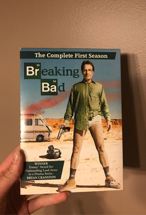 Breaking Bad Dvd series FIRST SEASON for Sale in Griffith, IN