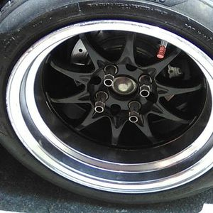 2 Size 15 Lite What Rims 4 Lug for Sale in Los Alamitos, CA